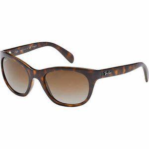 Ray-Ban RB4216 Light Havana Polarized Sunglasses